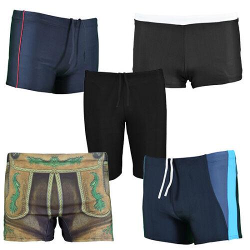 5er Pack Uomo Uomini costume bagno Herren Pantaloncini Nuovo Nero Taglia s-2xl