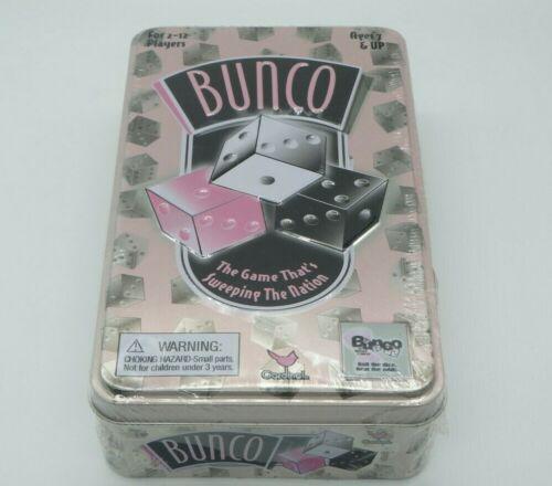 NEW ede BUNCO Dice Game 2005 Cardinal Board Games