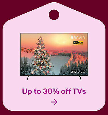 Up to 30% off TVs