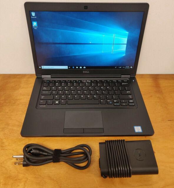 Dell Latitude E5470 Core i5-6300U 2.40GHz 8GB 256GB SSD Win 10 Pro Office 19