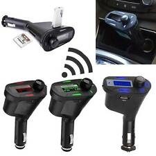 GREEN CAR WIRELESS FM RADIO TRANSMITTER MP3 REMOTE FOR APPLE IPAD AIR 2 9.7