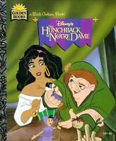 Disney's the Hunchback of Notre Dame (Little Golden Book) Korman, Justine Hardc