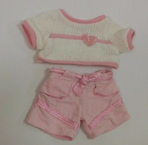 Build A Bear workshop pink girl Teddy outfit Child Kids ...