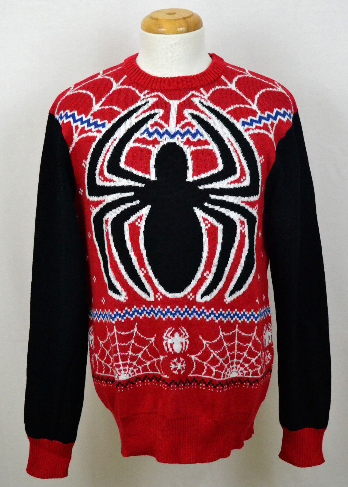 Spider-Man 8//10 Marvel Boys/' Ugly Christmas Sweater Size M