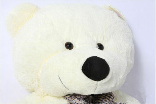 "31.4/"" Giant Big Cute Beige Plush Teddy Bear Huge Soft Cotton Romantic Toys *"