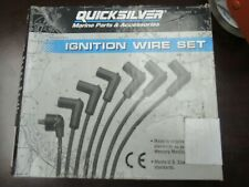 engi New Spark Plug Wire Kit quicksilver 84-816761q 5 Application Fits GM 4 cyl