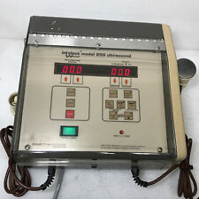 Chattanooga Intelect Model 200 Ultrasound Unit As Is R11