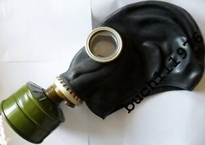 WW2-USSR-RUSSIAN-RUBBER-GAS-MASK-GP-5-Black-Military-new-all-size1-2-3-4