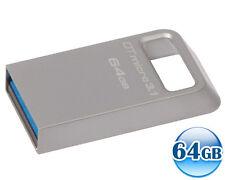 KINGSTON 64GB 64G Data Traveler DT MICRO 3.1 USB 3.0 Memory Flash Drive 100MB/s*