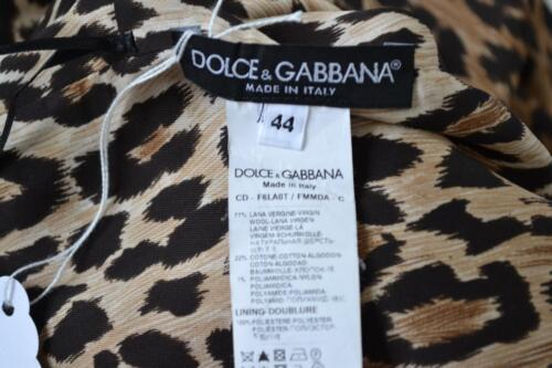 bordeaux Mouwloze kant jurk wol Gabbana grijs Maat van Rood Dolce 44 OwFxEq