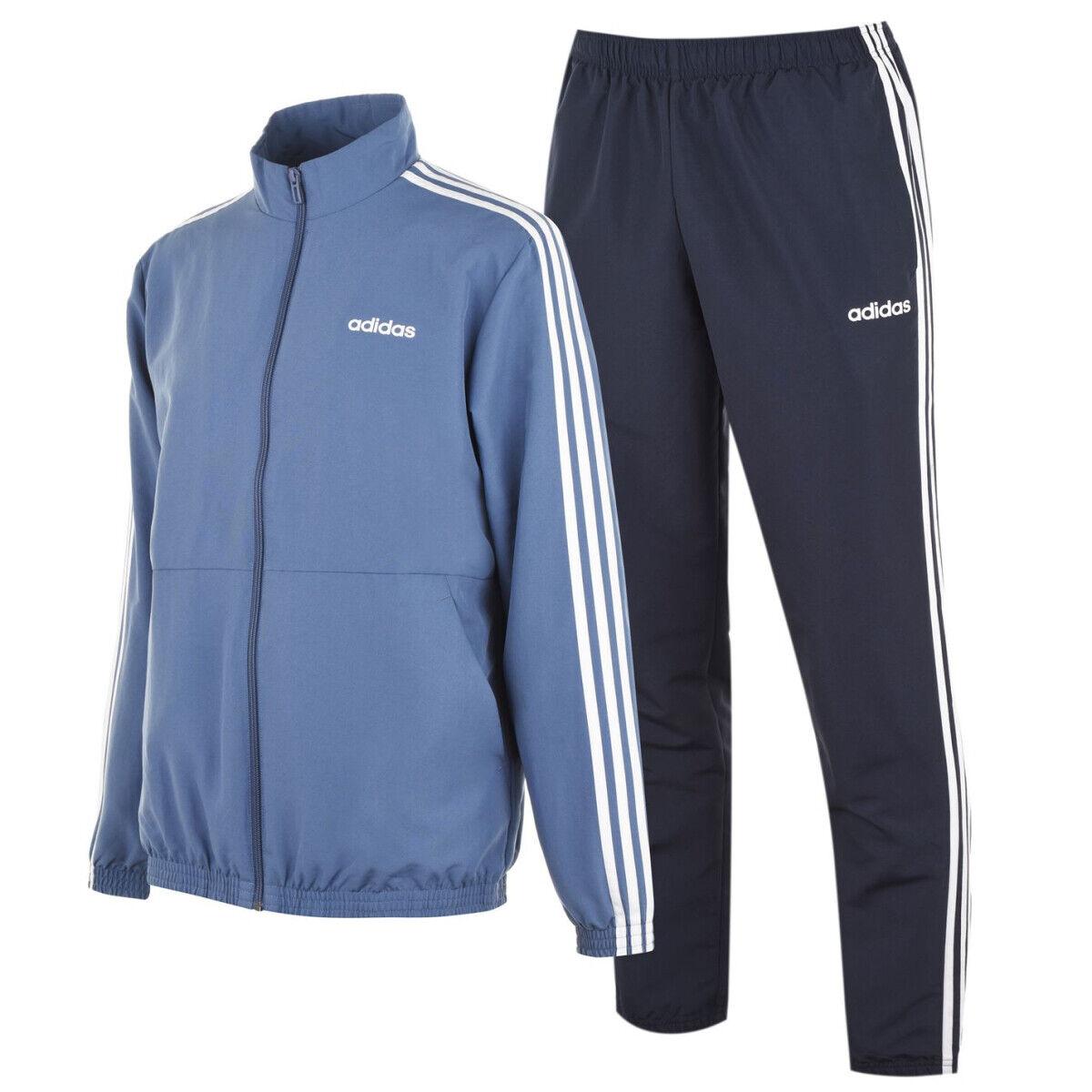 Adidas Trainingsanzug Herren Sportanzug 3 Streifen Jogginganzug Freizeit Woven 9