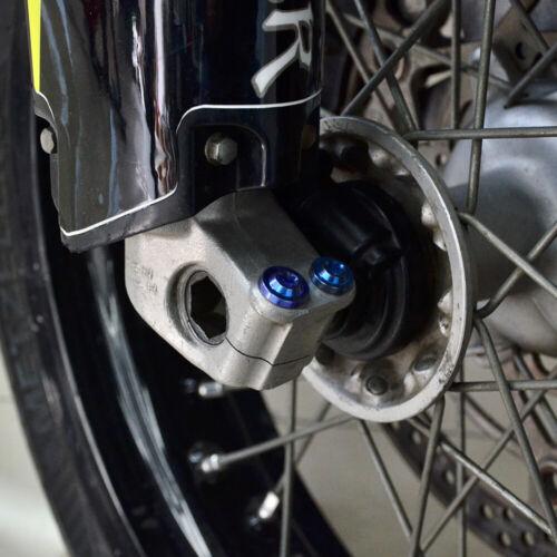 M8x40 Titanium Alloy Bolt For Motorcycle Sport Bike Auto Racing Top Triple Clamp