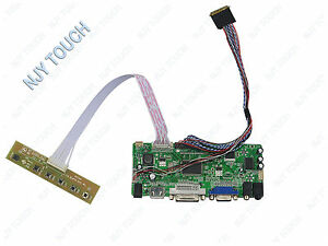 HDMI-DVI-VGA-Audio-LCD-Controller-Board-LVDS-For-AUO-B173HW02-V1-1920x1080-40Pin