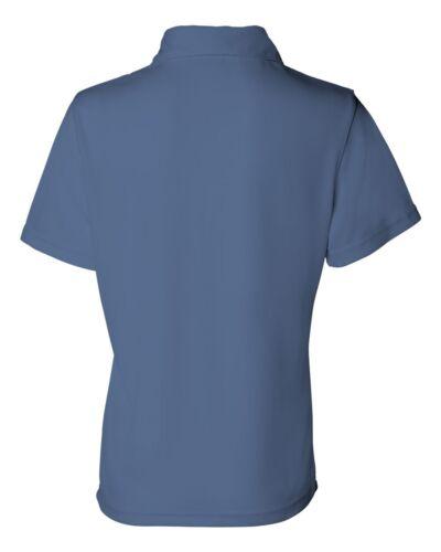 FeatherLite Women/'s Moisture Free Mesh Sport Polo Tee Ladies T-Shirt S-3XL 5469