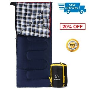 Cotton-Flannel-Sleeping-Bag-Season-Warm-and-Comfortable-for-Camping-Hiking