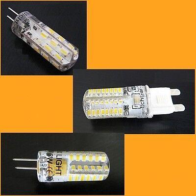 G4 G9 LED Leuchtmittel Lampe Birne Glühbirne Stecklampe Sparlampe warm kalt ACDC