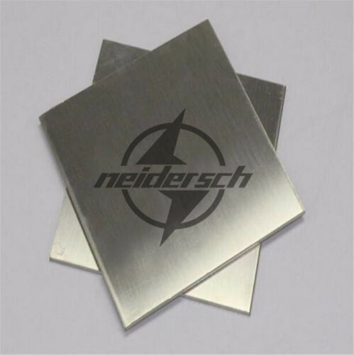 New 1Pc 304 1.5mm x 100mm x 100mm Stainless Steel Fine Polished Plate Sheet