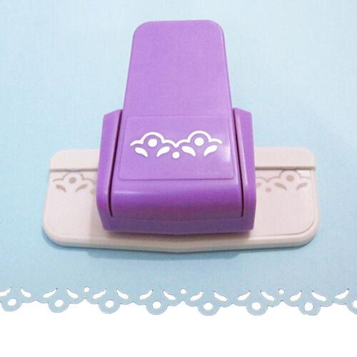 Fancy border punch S flower design  embossing Punch scrapbooking paper cutter SE