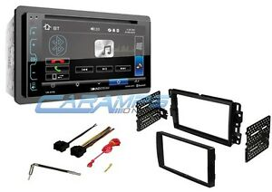 NEW-SOUNDSTREAM-6-2-034-BLUETOOTH-CAR-STEREO-W-USB-AUX-INPUTS-amp-DASH-KIT-amp-HARNESS
