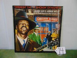Buddy-Guy-amp-Junior-Wells-Drinkin-039-TNT-039-n-039-Smokin-039-Dynamite-Vinyl-LP