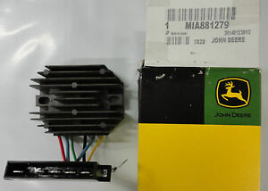JOHN DEERE Voltage Regulator MIA881279 2243 415 670 770 790 870 970