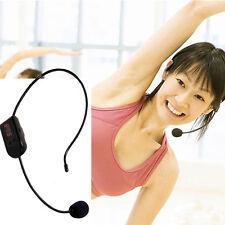 Radio FM Hot Sale Handsfree Mic Headset Wireless Microphone For Teacher Speaker