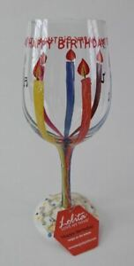 Lolita-Wine-Glass-15-oz-Hand-Painted-w-Recipe-on-Bottom-Happy-Birthday