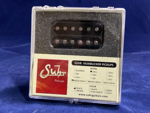 PLUS Guitar Humbucker F-Spaced Bridge Pickup 53mm WHITE John Suhr Guitars SSV