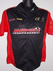 NHRA-LEAH-PRITCHETT-CREW-SHIRT-ALBRECHT-039-s-DON-SCHUMACHER-RACING-DSR-SMALL-XS