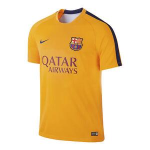 9f7ec0fd3795e Nike FC Barcelona Official 2015-2016 Elite Soccer Training Jersey ...