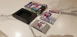 Raro-Wayne Gretzky's 3D Hockey'98-Nintendo 64 N64 Completa!!!