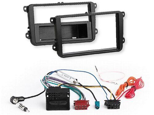 Radio kit de integracion auto 1 din diafragma adaptador Seat Alhambra concepto 7n a partir de 10//10