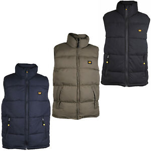 Cat Caterpillar Arctic Zone Body Warmer Water Resistant Quilted Mens Gilet Vest Schrecklicher Wert