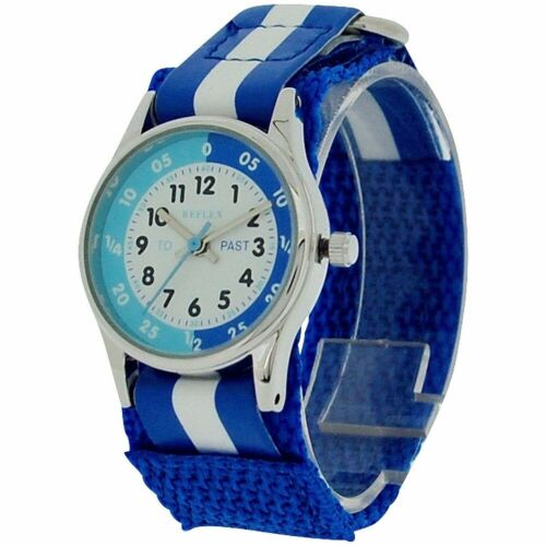 Boys Girls Kids Easy Read Time Teacher Watch-Educational School Learning Gift