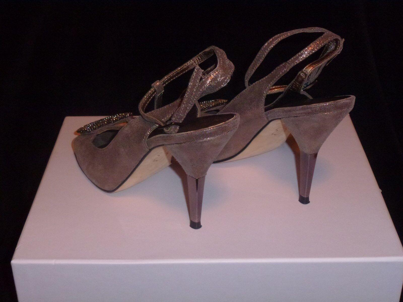 Pelle Pelle Pelle Moda damen schuhe Glittery Bronze 8 M High 3 in and Up c518ff