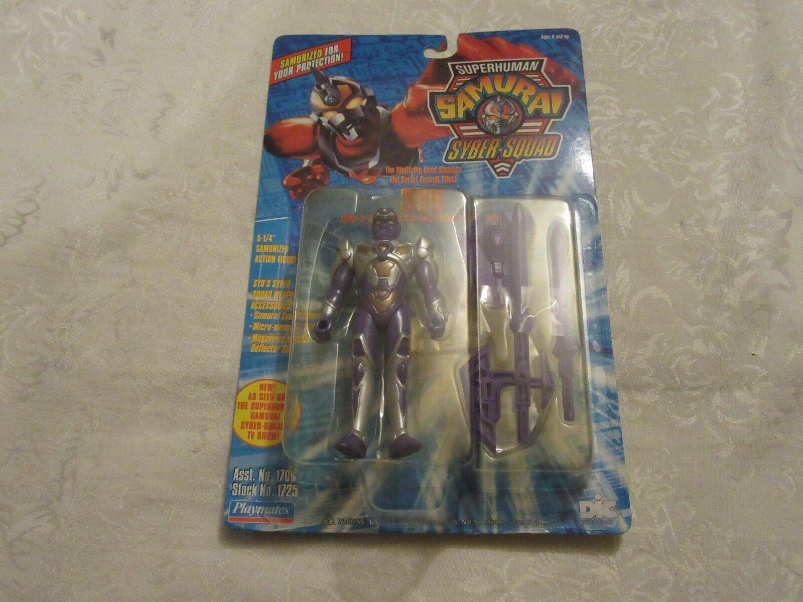 Playmates 1994 Superhuman Samurai Syber-Squad 5 1/4  Syd Action Figure