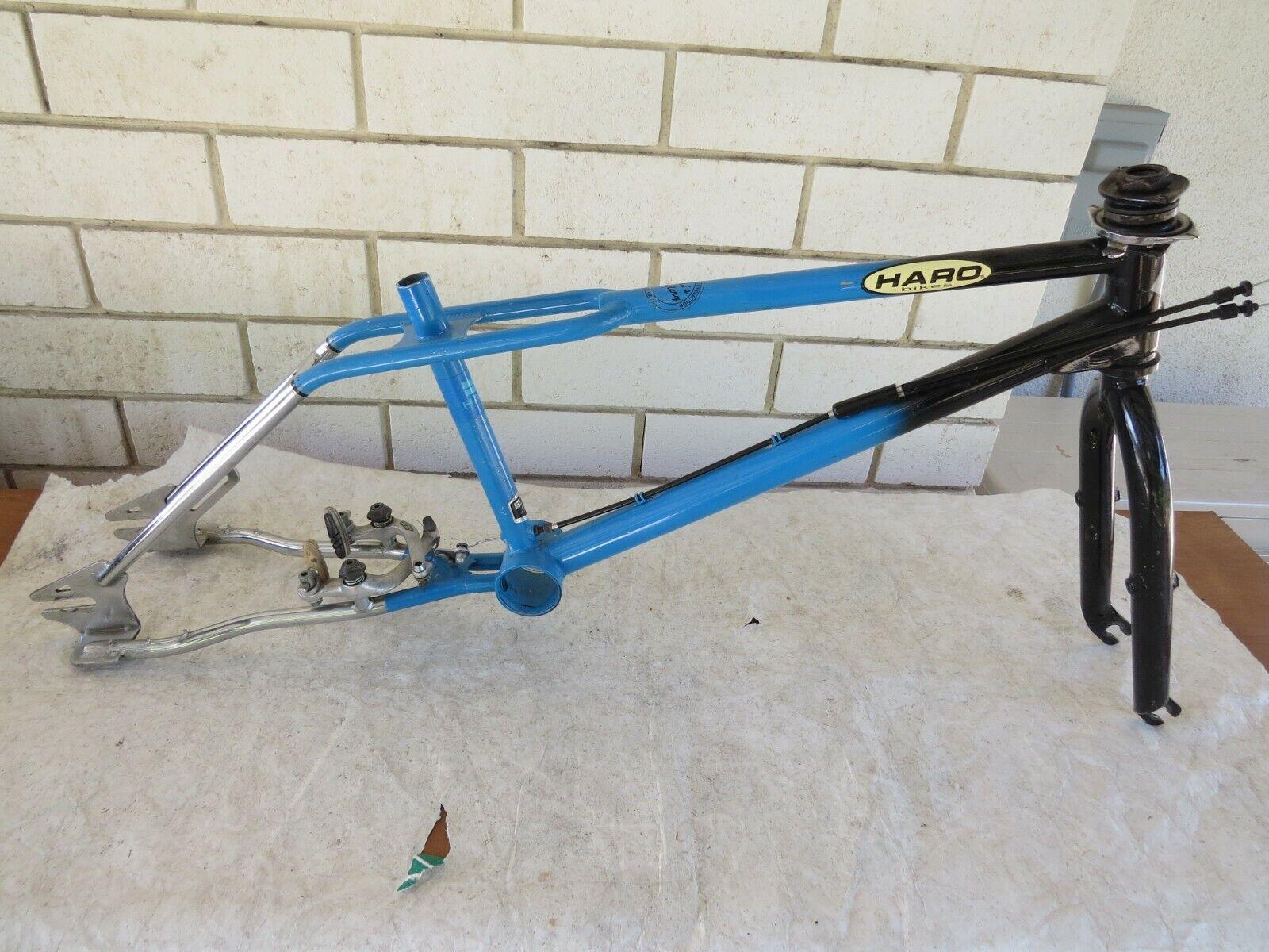 1987 HARO  FREESTYLER SPORT BMX VINTAGE  FRAME FORK FREESTYLE