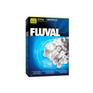fluval biomax bio rings 500g filter media genuine 15561114561 ebay