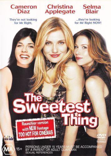 1 of 1 - The Sweetest Thing DVD Cameron Diaz Christin Applegate Selma Blair BRAND NEW R4