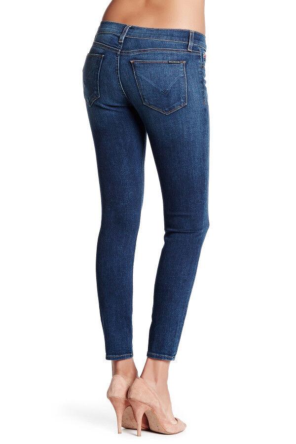NWT HUDSON Women Krista Ankle Super Skinny Mid-Rise Jeans Size 29 Gratitude Wash