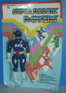 Super Robotic Rangers: Blue Ranger {KO Power Rangers Figure}- New/Heavy Wear!!!