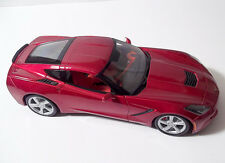 Maisto 2014 Corvette Stingray Scale 1/18 Die-Cast Model Car Red Excellent Shape