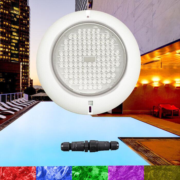 Swimming Pool Resin Filled Light RGB 105 LED Ultra Bright Retro Fit Leak Free