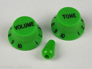 GREEN-VOLUME-amp-TONE-CONTROL-KNOBS-for-IBANEZ-guitar-optional-MATCHING-TIP