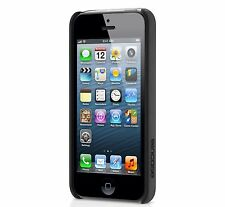 InCase iPhone 5 5s Pro Snap Case. Clear With Black Grip On Side.  Cl69052.  New!