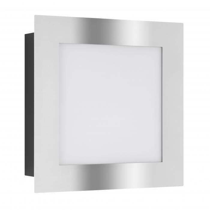 LCD Wandleuchte 3005SEN Edelstahl, inkl. Bewegungsmelder