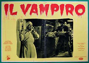 T27 Fotobusta Die Vampir Paul Landres John Beal Coleen Gray Kenneth