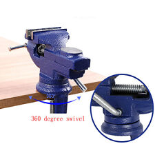 "2-1/2"" Swivel Bench Vise Clamp With Anvil Vice Hobby Tool Table Vise Type 2.5''"