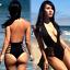 Sexy-Women-039-s-Monokini-Push-Up-One-Piece-Swimwear-Swimsuit-Padded-Bikini-Bathing miniature 1