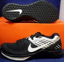 Womens Nike Metcon 3 DSX Flyknit Black White CrossFit SZ 6 ( 849809-001 )